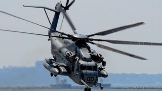 AWESOME CH-53E Super Stallion Take Off