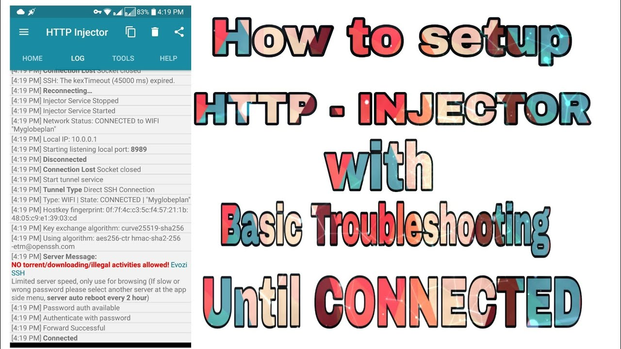 How to Create Http Injector Payload and Remote Proxies 2019 | Pinoytut