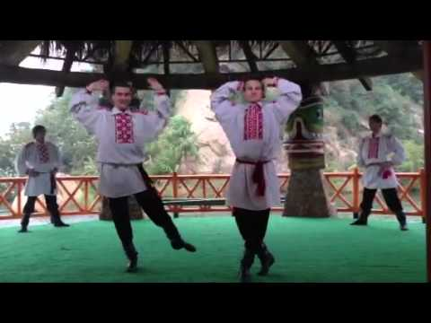 Live russian dance in china