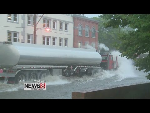 New London businesses begin cleanup after flash floods