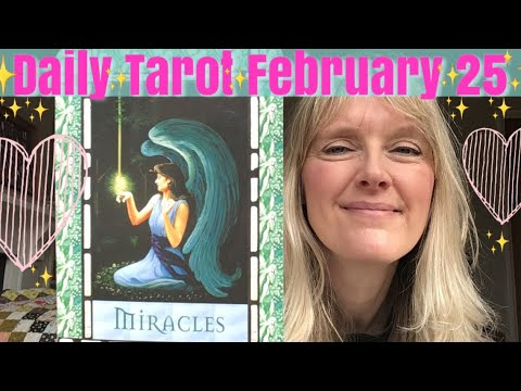 Daily Tarot 25 February 2019 * The Cosmic Phone Box