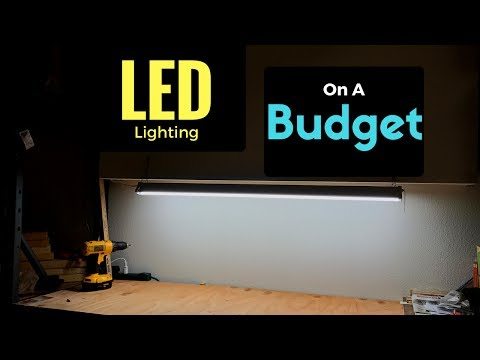 How To Install A Workbench Led Lighting