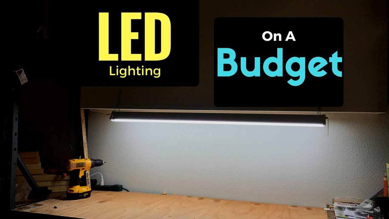 How To Install A Workbench Led Lighting On Budget