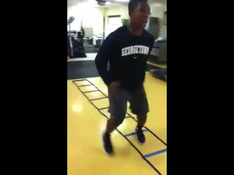 SPEED DRILLS RODNEY MORRIS 2013 6'1 190 CALVARY CHRISTIAN SCHOOL COLUMBUS GA