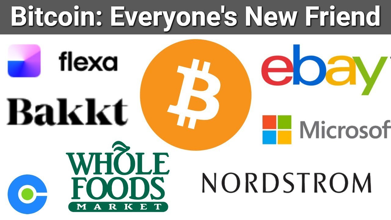 Whole Foods Bitcoin via Flexa SPEDN / Bakkt News / eBay Crypto Update / Microsoft DID Bitcoin