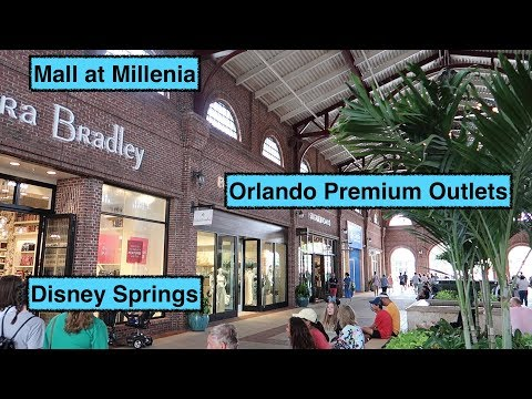 Orlando Shopping - Our Favourite Places To Shop!