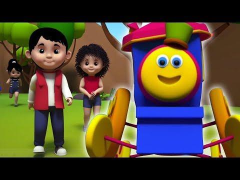 Bob el tren   sobre las montañas   canciones infantiles   rimas en español   Over The Mountains