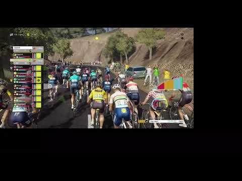 TDF 2021 Game, Stage 14 of Tour De France as Jumbo Visma |