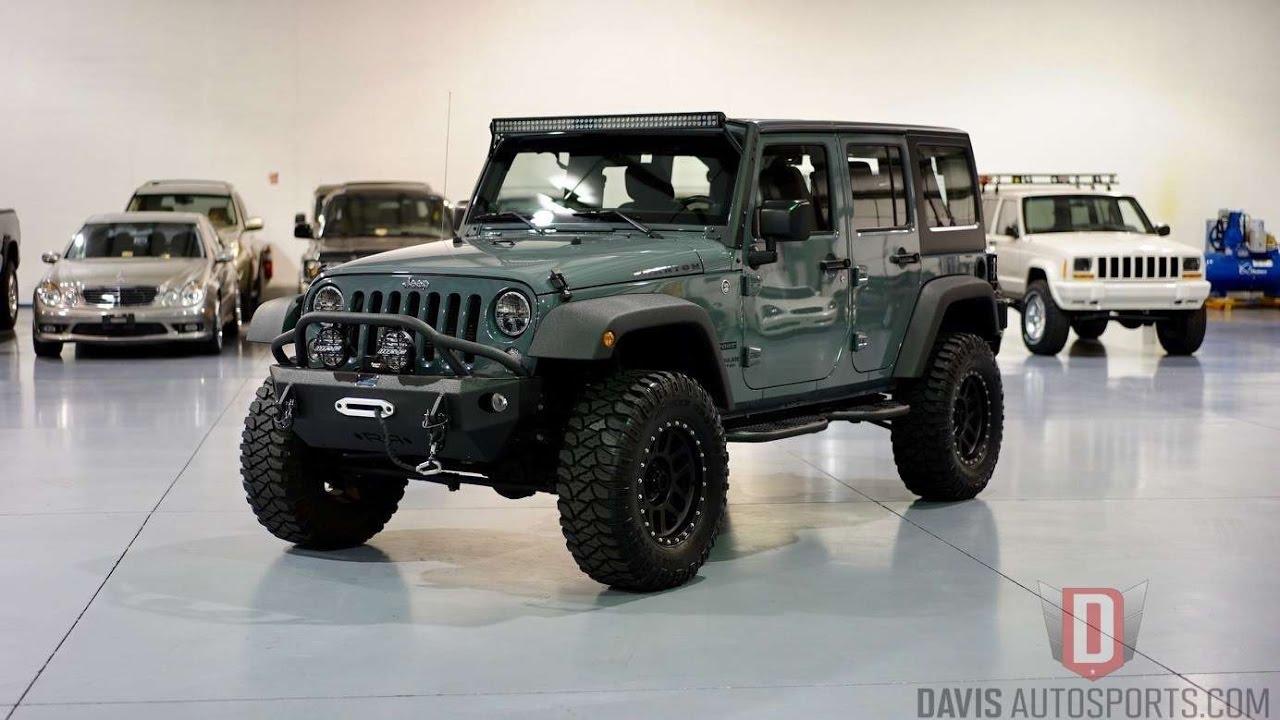 Davis Autosports 2014 Anvil Jeep Wrangler Jk Unlimited For