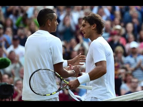 Nick Kyrgios VS Rafael Nadal Highlight (Wimbledon) 2014 R4