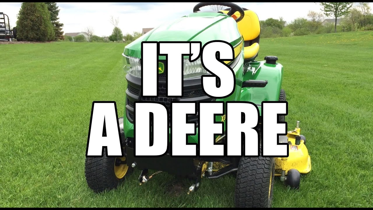john deere x300 riding tractor youtube. Black Bedroom Furniture Sets. Home Design Ideas