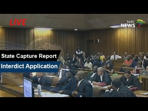 Part 2: Court hears bid to prevent release of Madonsela's state capture report