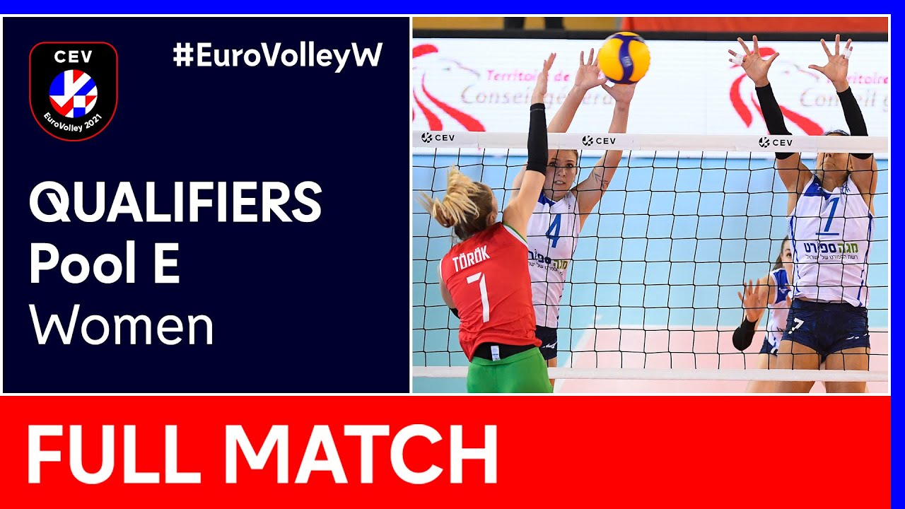 Download Hungary vs. Israel - CEV EuroVolley 2021 Qualifiers Women