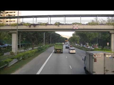 SMRT Dennis Enviro500 MMC on Service 969 (SMB3510K) [Lentor Ave → Tampines Int]