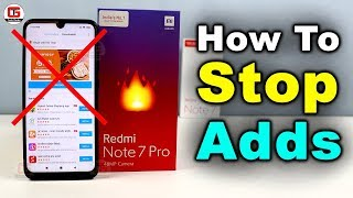 How to Stop Adds in Redmi Note 7 Pro | Disable Adds in Redmi Noe 7 Pro & Redmi Note 7 in Miui 10