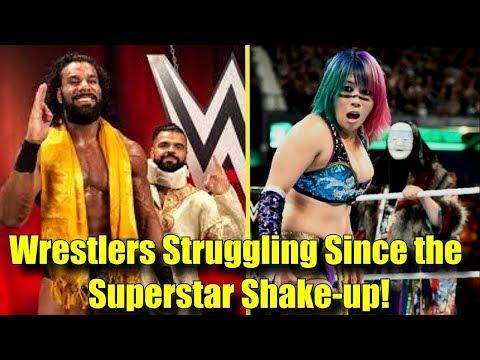 10 SUPERSTARS WHO GOT SCREWED By The Superstar Shake-up! - Jinder Mahal, Asuka & More!