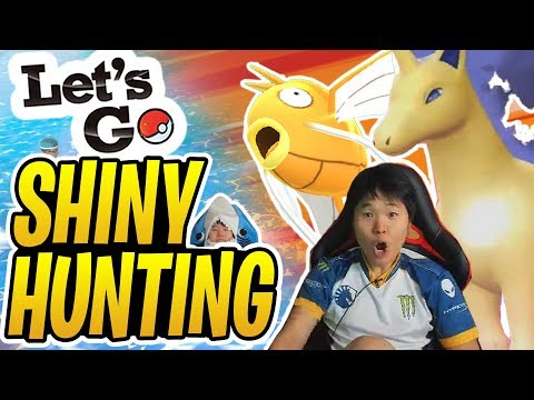 Pokémon Let's Go SHINY HUNTING! | 4 SHINIES in ONE STREAM?! | Let's go Eevee | Stream Highlight thumbnail