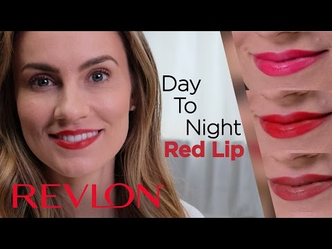 Bold Red Lips From Day-To-Night with Angela Lanter | Revlon