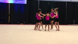 Emerald City Rhythmic Gymnastics Performance March 2015