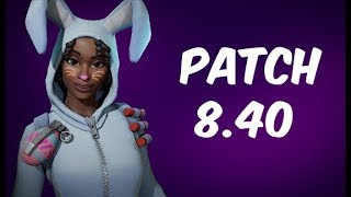 PATCH 8.40-NEW WELDED LUNA BUNNY-NEW NINJA KEN HARE-FORTNITE SAVE THE WORLD