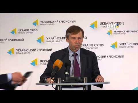 Sergiy Sobolev. Ukrainian Сrisis Media Center. April 18, 2014