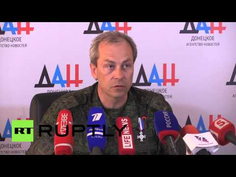 Ukraine: Lentsov and OSCE observers attacked after finding illegal weapons cache - Basurin