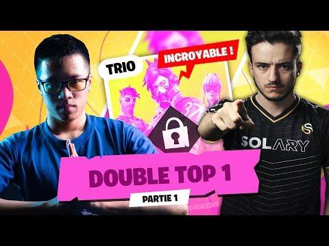 UN DOUBLE TOP 1 POUR LES DEUX TRIO ?! | TRIO CASH CUP #1 - Partie 1