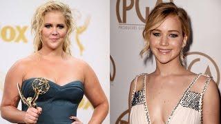 Amy Schumer Reveals The Hilarious Text Jennifer Lawrence Sent Her After Winning An Emmy