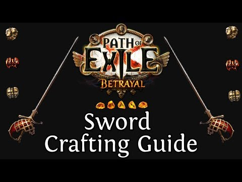 PoE - Sword Crafting Guide (Phys Crit Attack)