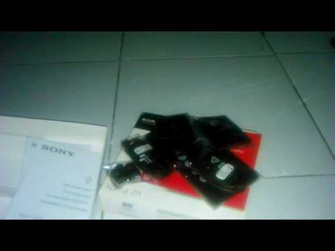 Unboxing Sony Xperia ZR indonesia