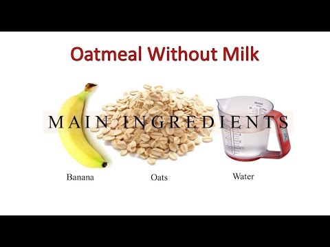how-to-make-oatmeal-without-milk---no-milk-oatmeal-recipe---healthy-oatmeal-recipe