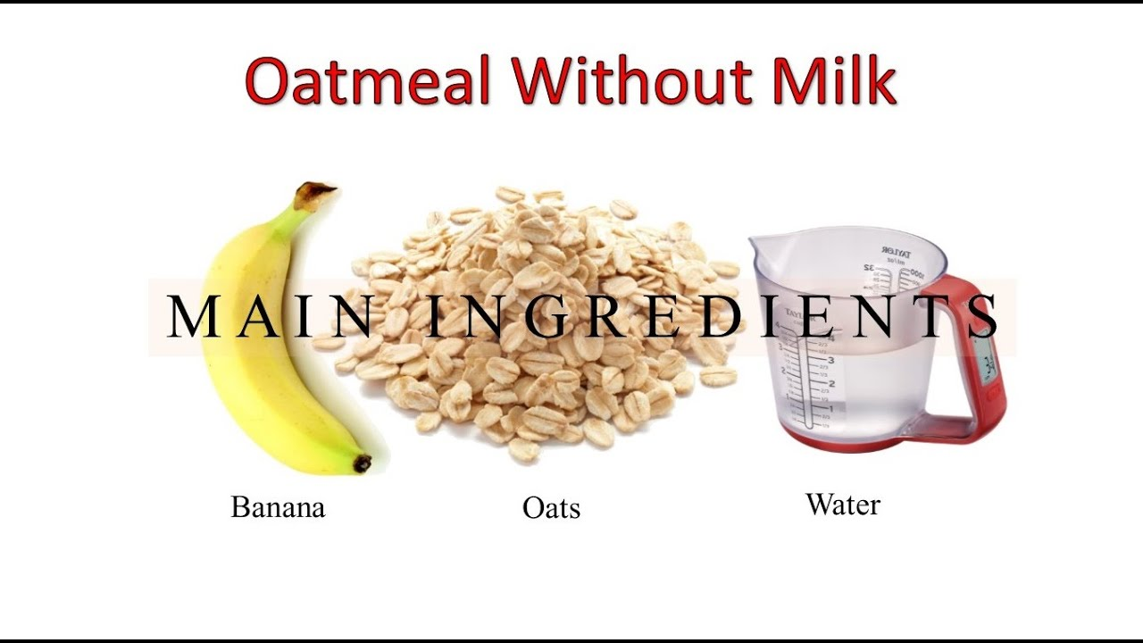 How to cook oatmeal with milk