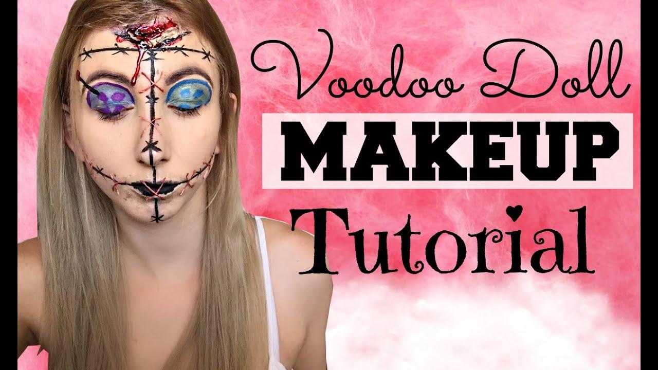 Voodoo doll makeup tutorial youtube jpg 1280x720 Voodoo doll makeup tutorial eyes