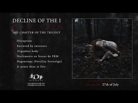 DECLINE OF THE I - Escape (Official Album Stream)
