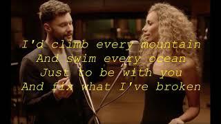 Calum Scott & Leona Lewis - You Are The Reason LyricsHD