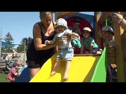 Neuer Spielplatz Für Kleinkinder In Himberg