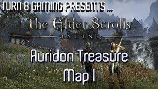 The Elder Scrolls: Online - Auridon Treasure Map I by Turn 8 Gaming