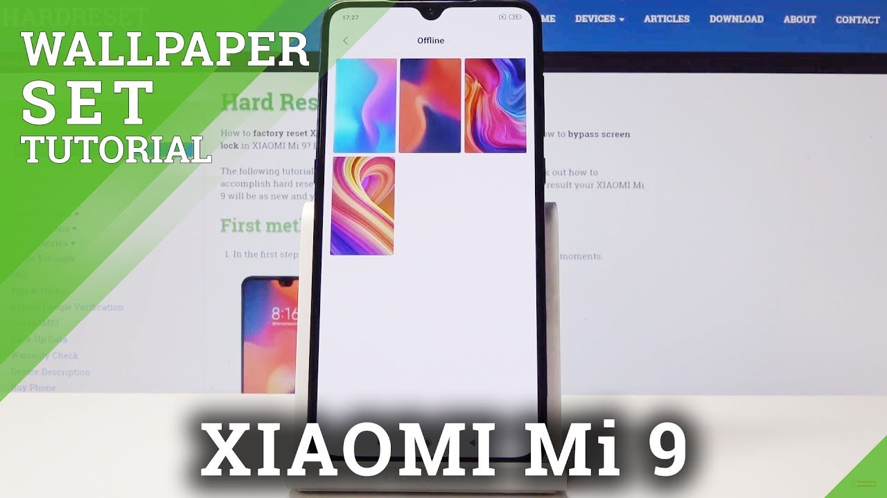 How To Personalize Home Screen Lock Screen In Xiaomi Mi 9 Change Wallpaper Youtube