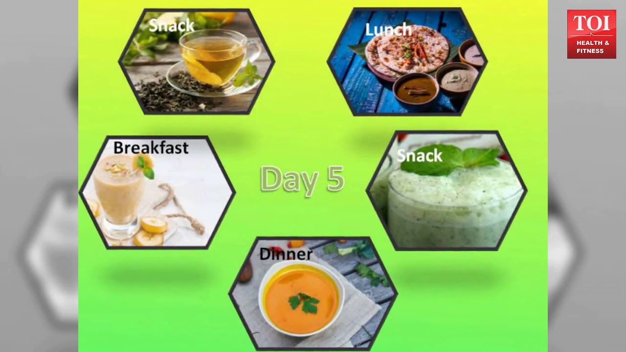 Navratri 2018: 7-day detox diet plan