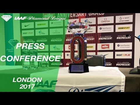 London 2017 Press Conference - IAAF Diamond League