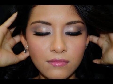 maquillaje con colores pasteles