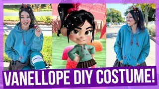 DIY Vanellope Costume from Wreck it Ralph!
