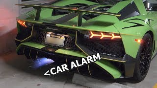 Exhaust so loud it sets off CAR ALARMS | My future Aventador SV