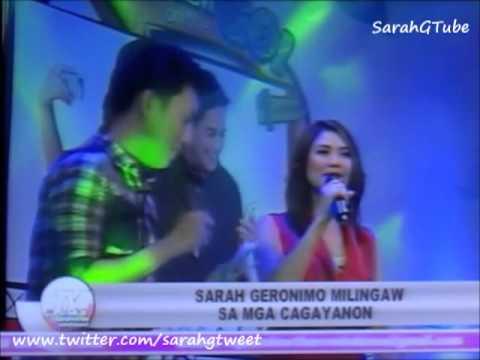 Sarah Geronimo - Sarah G in CDO - TV Patrol Northern Mindanao (Sept 6, 2013)