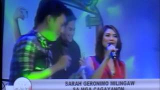 Sarah Geronimo - Sarah G in CDO - TV Patrol Northern Mindanao (Sept 6, 2013)