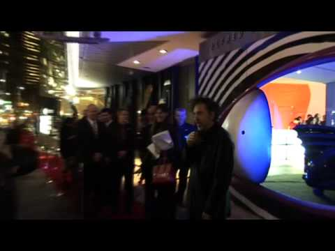 Highlights of Tim Burton's visit to ACMI