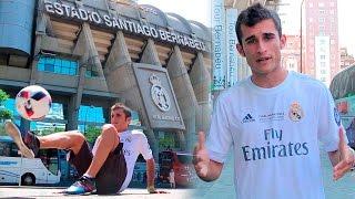 Primera Camiseta del Mundo Real Madrid CF 2016/2017 adidas - Fútbol Freestyle Santiago Bernabéu