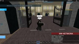 ROBLOX BBC [UK] News! Trespasser Has been caught!