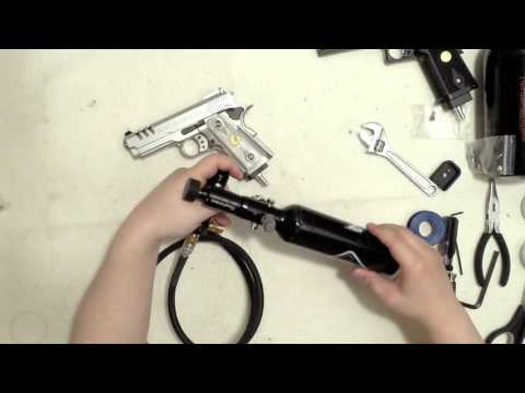 Convert Airsoft Green Gas Guns to HPA with Russian CQB Valve