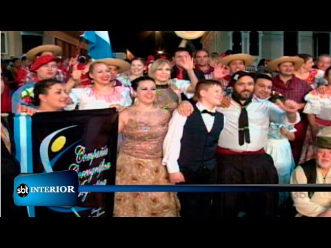 Festival Internacional de Folclore reúne grupos de cinco países de Olímpia